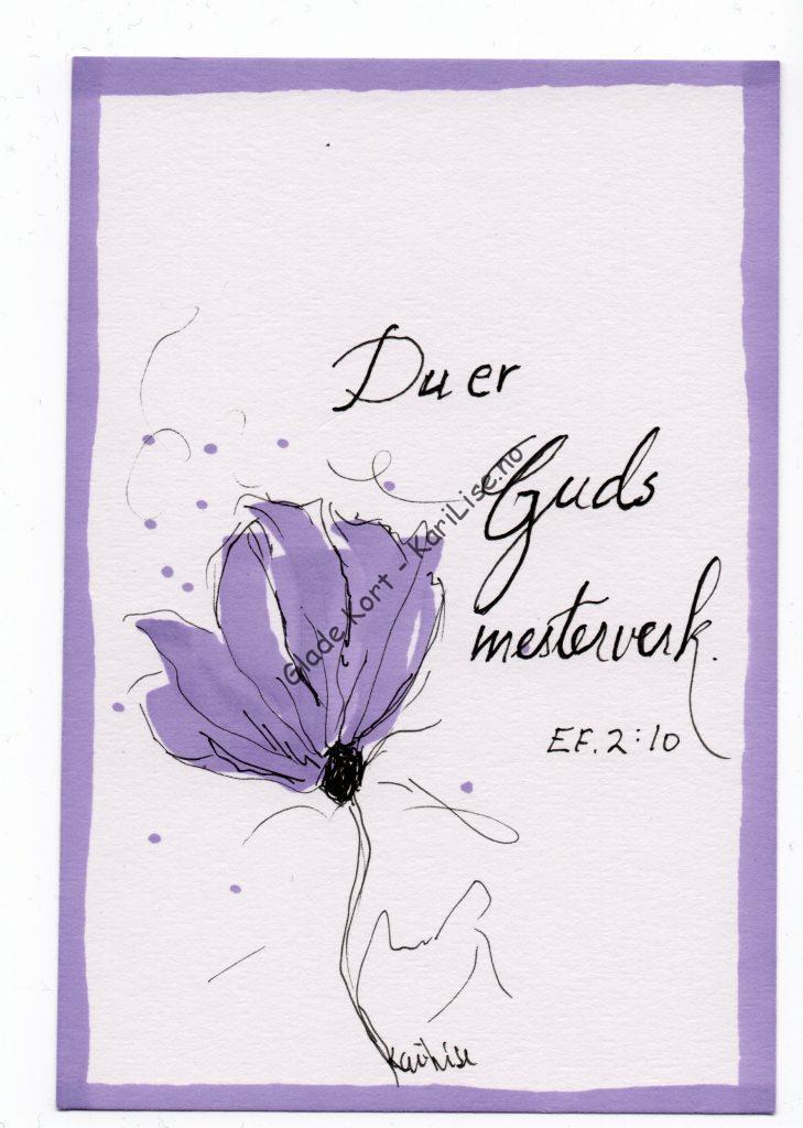 Du er Guds mesterverk