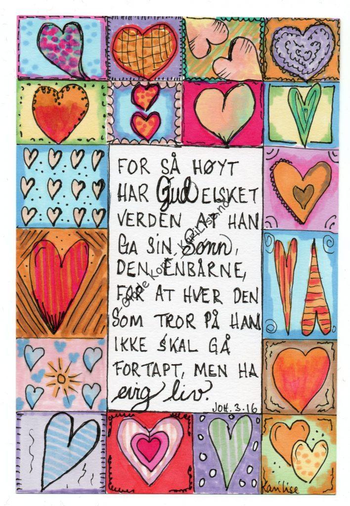 for så høyt har Gud elsket..